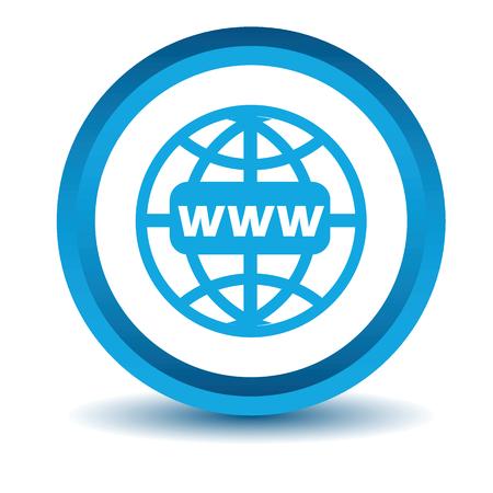 블루 www가 아이콘