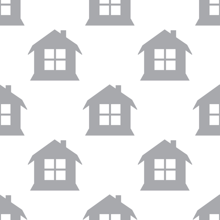 new house: New House seamless pattern