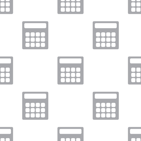 reckon: New Calculator seamless pattern