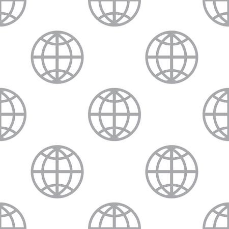 new world: New World seamless pattern Illustration