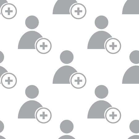 add: New Add user seamless pattern