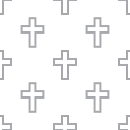 protestant: New Protestant Cross seamless pattern