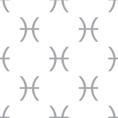 pisces: New Pisces seamless pattern