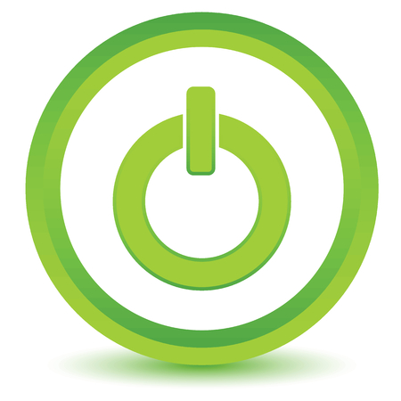 green power: Green power icon