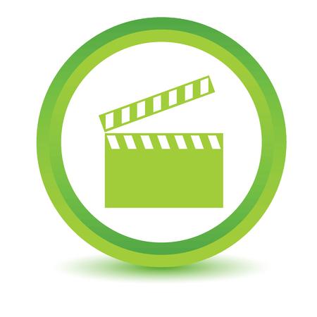 tele: Green film icon