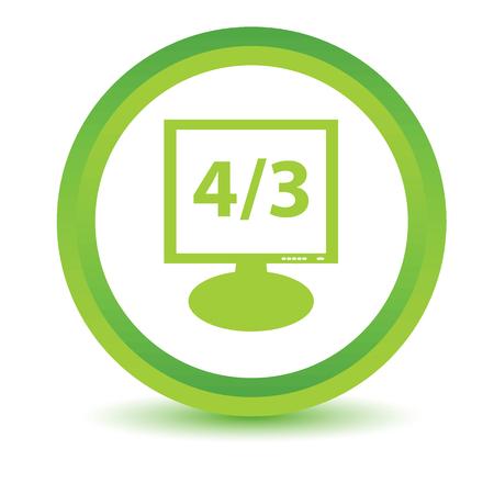 pc tune: Green monitor icon