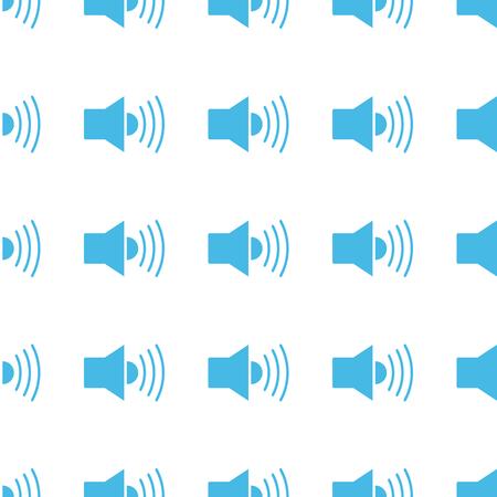 Unique Speaker seamless pattern