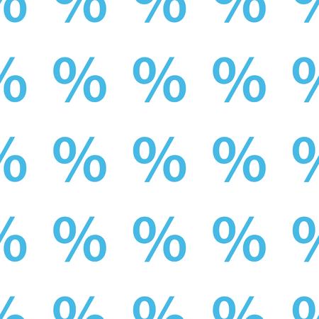 Unique Percent seamless pattern