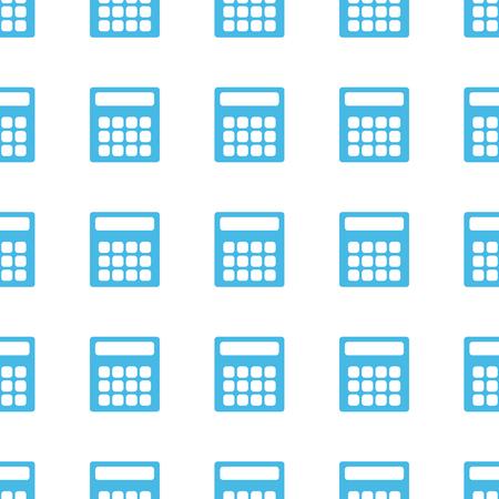 numerate: Unique Calculator seamless pattern Illustration