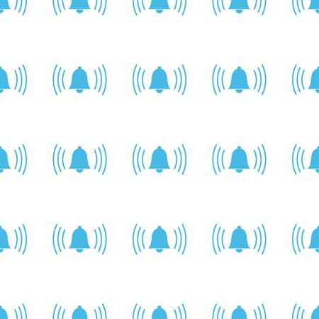 alarmclock: Unique Alarmclock seamless pattern Illustration