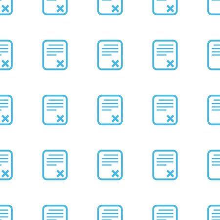 adopting: Unique Bad document seamless pattern Illustration