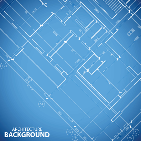 Architecture model house with blueprint royalty free cliparts blueprint building plan background vector malvernweather Images