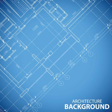 Best building plan background Vector