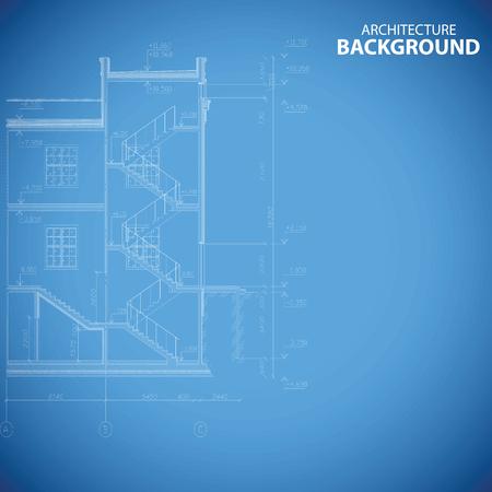 Best building structure background Vector