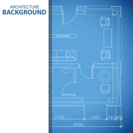 urban planning: Blue building background