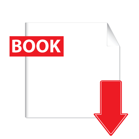 Book download icon Vector