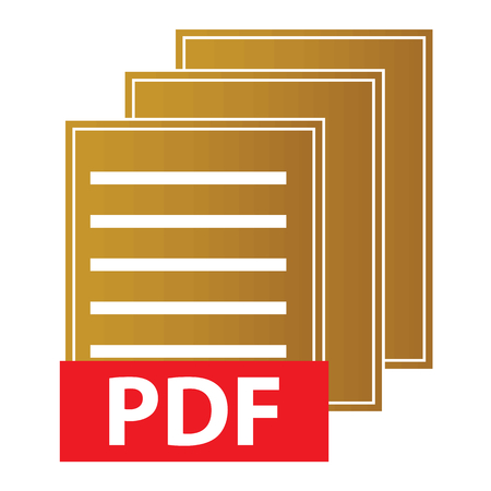 electronical: Pdf download icon Illustration