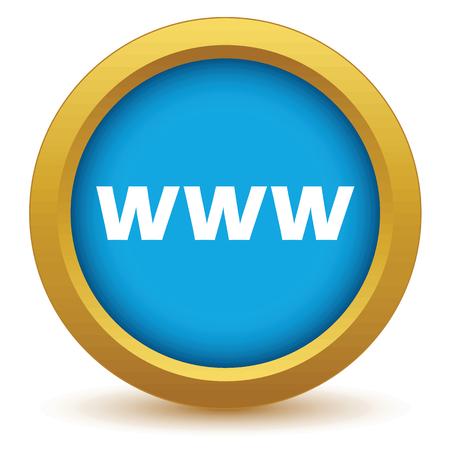 www icon: Gold www icon