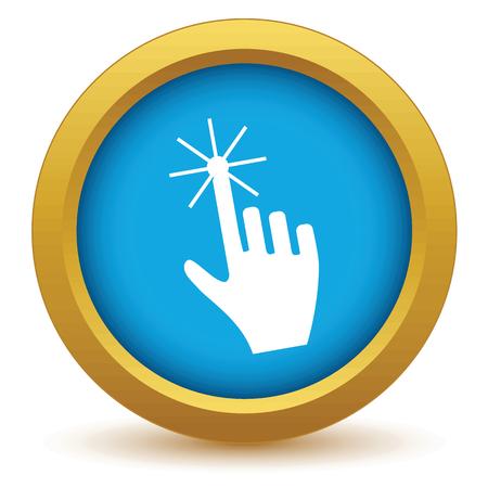 click the icon: Gold click icon