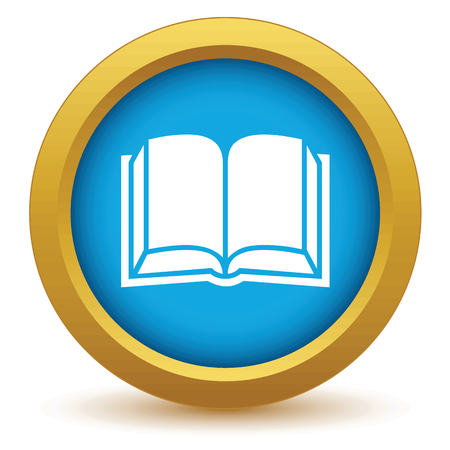 astute: Gold book icon