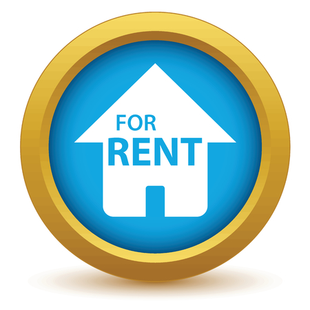 for rent: Gold for rent icon