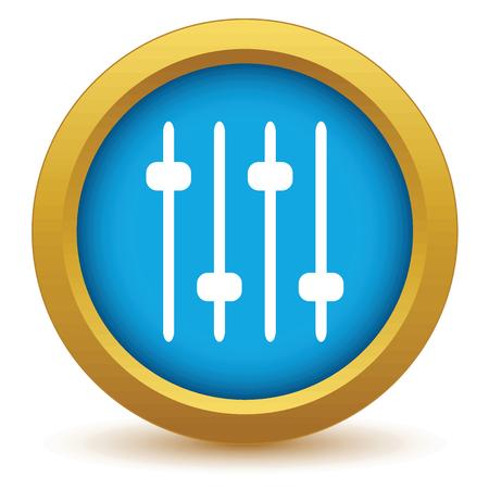 adjusting: Gold adjusting the sound icon