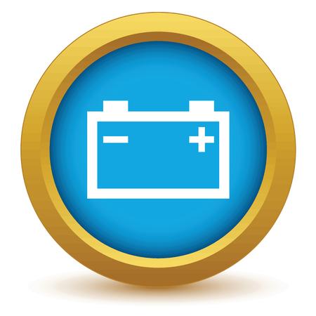 accumulator: Gold accumulator icon