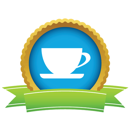Gold cup icon