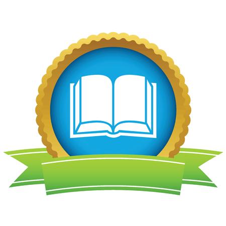 book logo: Logo libro de oro