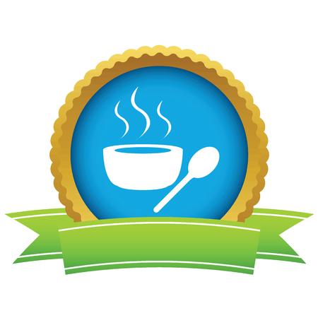 basmati rice: Gold soup logo