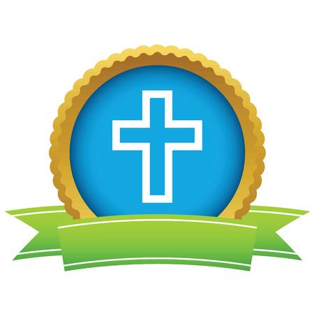 abbey: Gold Christianity logo