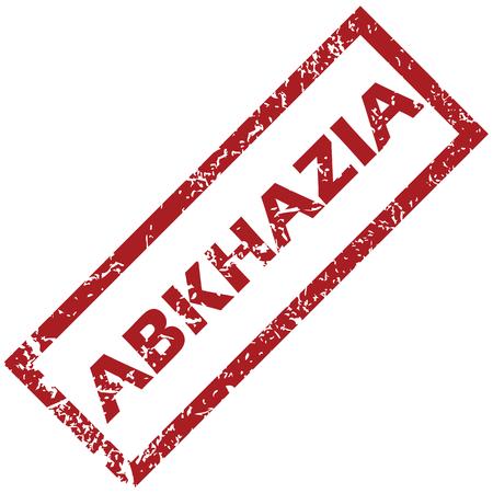 abkhazia: New Abkhazia rubber stamp