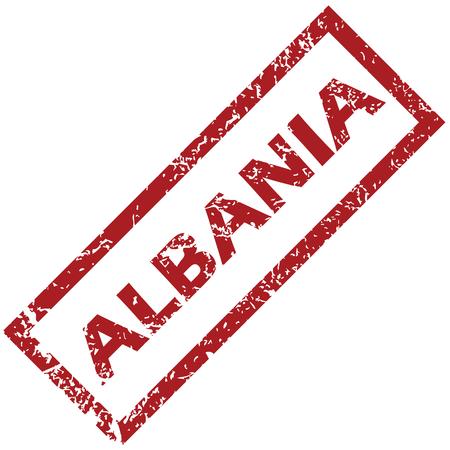 albanie: Nouveau timbre en caoutchouc Albanie Illustration