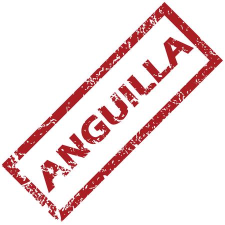 anguilla: New Anguilla rubber stamp