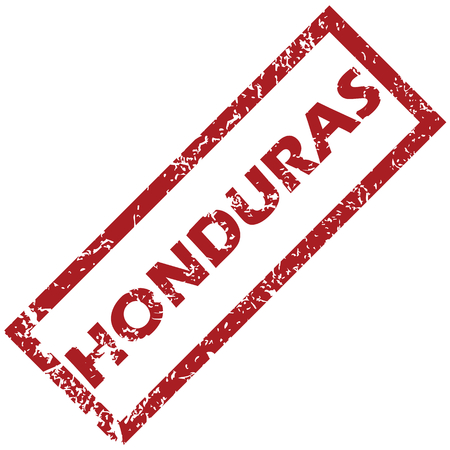 New Honduras grunge rubber stamp on a white background. Vector illustration Vector
