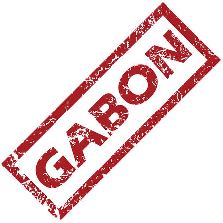 gabon: Gabon rubber stamp
