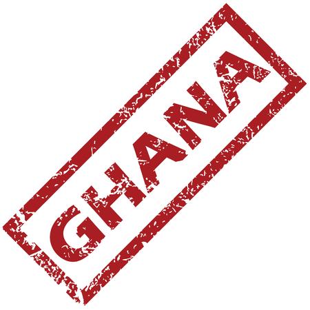 ghana: Ghana tampon en caoutchouc