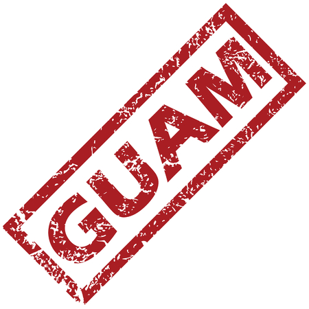 guam: Guam rubber stamp