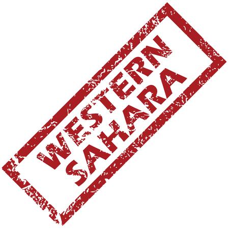 sahara: New Western Sahara rubber stamp