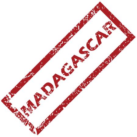 madagascar: New Madagascar rubber stamp
