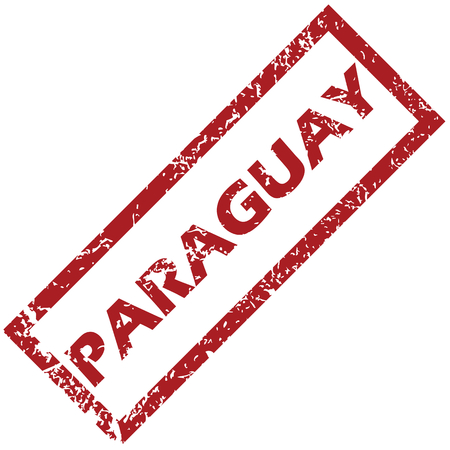 paraguay: New Paraguay rubber stamp