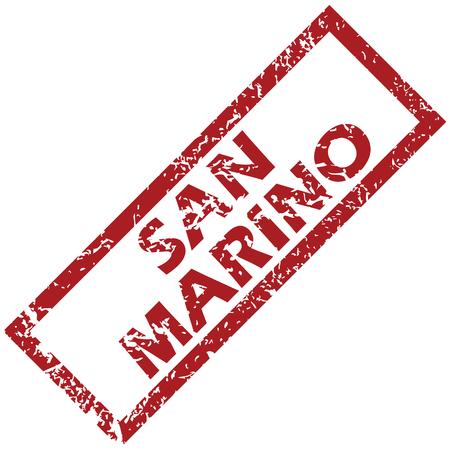 san marino: New San Marino rubber stamp