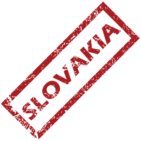 New Slovakia rubber stamp