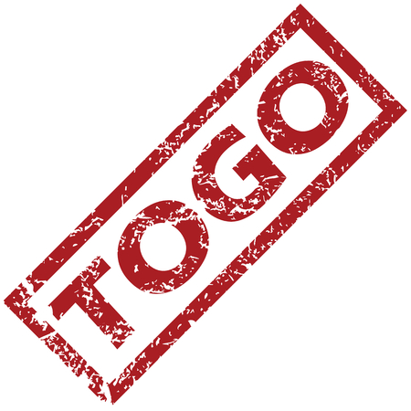 togo: New Togo rubber stamp