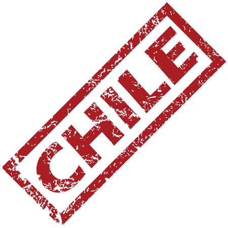 chile: New Chile rubber stamp Illustration
