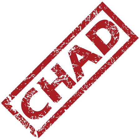 chad: New Chad rubber stamp