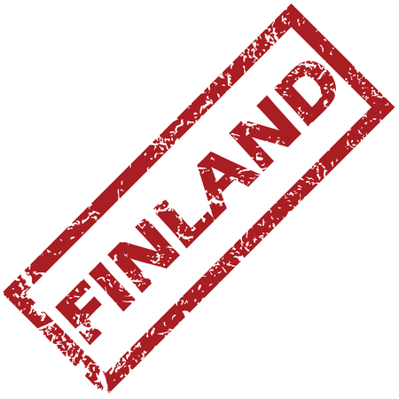 finland: New Finland rubber stamp