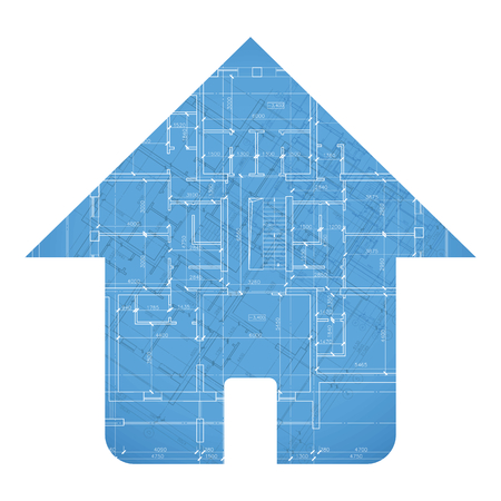 plan maison: Plan de l'architecture de la maison