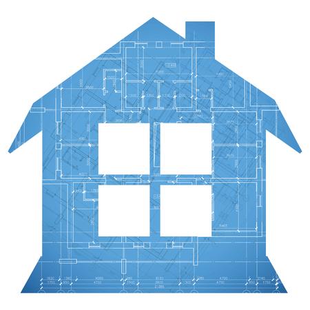 plan maison: Nouveau plan l'architecture de la maison