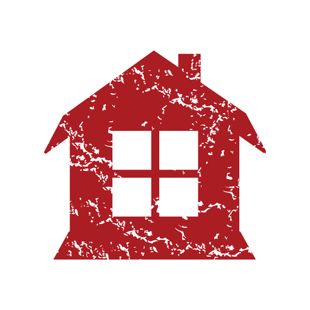 red grunge: Red grunge house